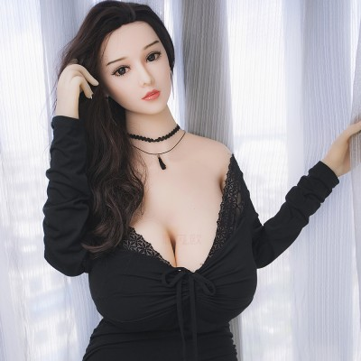 Debby: huge bust soft silicone sexy doll