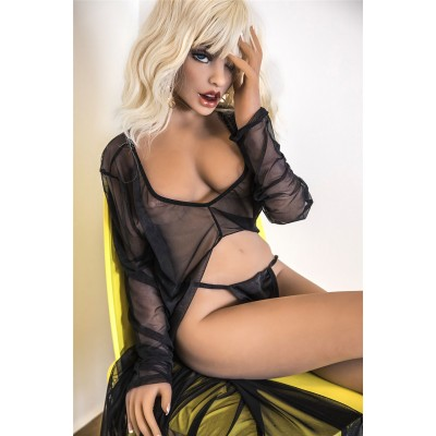 Bailey:Luxury Perfect SILICONE SEX DOLL for adult men sex